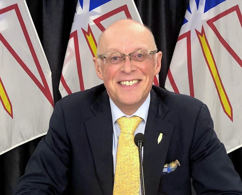 Dr. John Haggie is Newfoundland and Labrador's minister of Health and Community Services. — Contributed