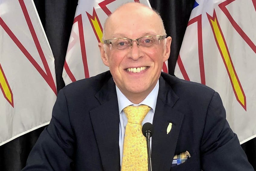 Dr. John Haggie is Newfoundland and Labrador's minister of Health and Community Services.