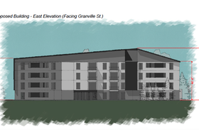 Preliminary concept art for a new public housing development in Summerside. – P.E.I. Housing Corporation image