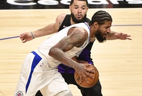 LA Clippers guard Paul George and Raptors guard Fred VanVleet were the two best players on the floor on Tuesday night.