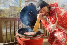 Jason Bourgoin of CHARBOYZ meat box delivery service in Halifax, N.S. offers weekly Friday night Meat School videos on Instagram and Facebook, where he teaches people how to barbecue various dishes, giving viewers more confidence in their grilling skills.