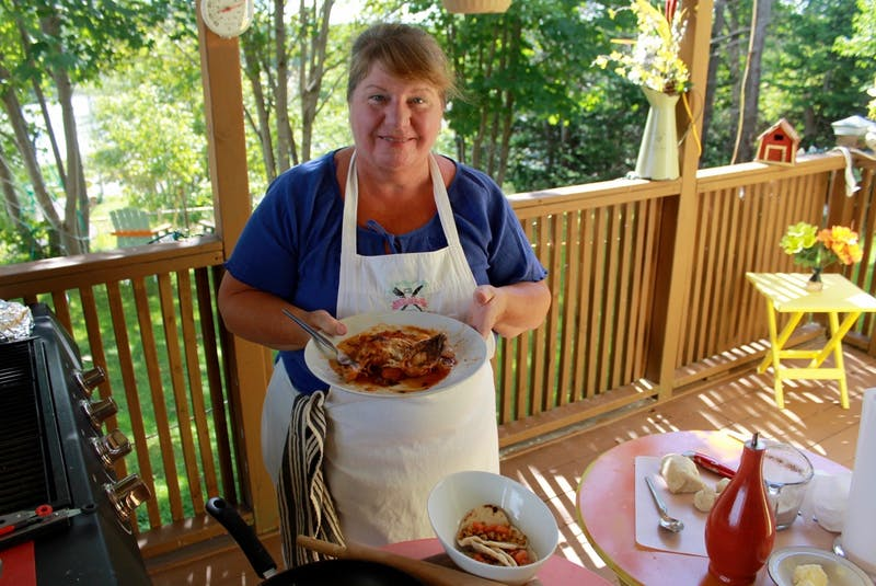 Bonita Hussey of Bonita's Kitchen in Spaniard's Bay, N.L., says just about anything can be cooked on the barbecue. Just make sure all your ingredients are on hand beside your grill before you get started.  - Contributed