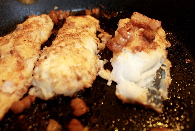 There are plenty of options to grill beyond a traditional steak. Bonita Hussey of Bonita's Kitchen in Spaniard's Bay, N.L., likes to cook cod on the barbecue in a cast iron pan, fried in pork fat and butter. - Saltwire network