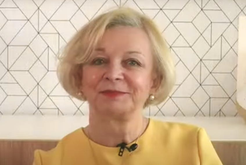 Dame Moya Greene outlines the key recommendations of the report of the Premier's Economic Recovery Team today from her home in the United Kingdom.