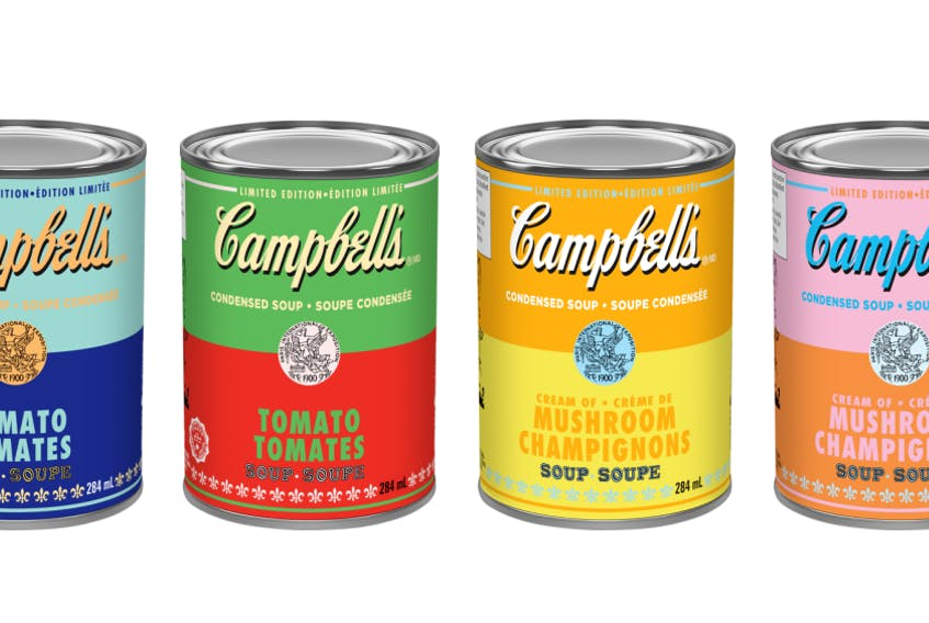Campbell Canada has partnered with The Andy Warhol Foundation to release limited edition Warhol-inspired soup cans available across Canada.