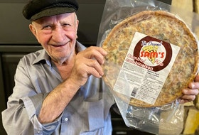 Frozen pizza was not on the menu when George Kouyas opened The Original Sam's restaurant more than 50 years ago but it has his stamp of approval. (Contributed)