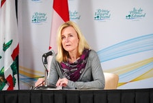 Dr. Heather Morrison announced two new cases of COVID-19 on May 6.