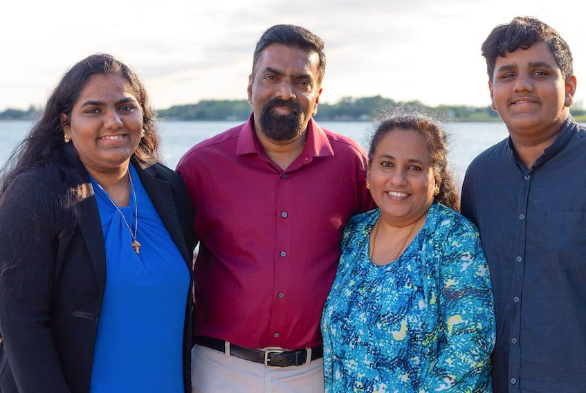 The four S's of 4S Catering is made up of, from left: Sandra, Sunil, Sheena and Samel.