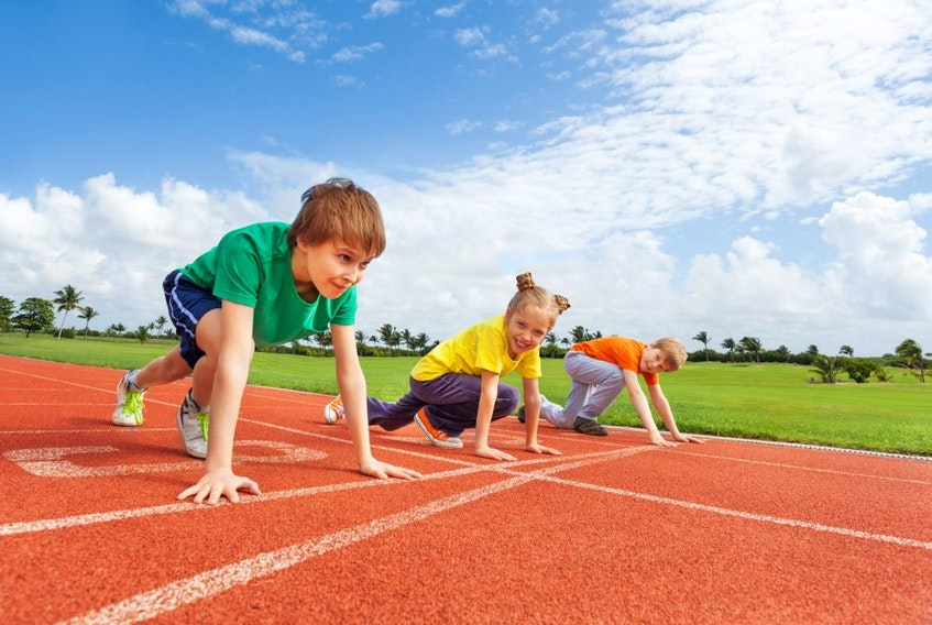 Athletics Ontario sent a letter to Premier Doug Ford urging Ontario to allow kids to resume outdoor sports such as track and field. GETTY IMAGES