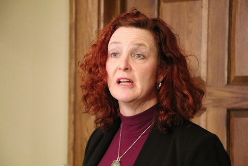 NDP Leader Alison Coffin