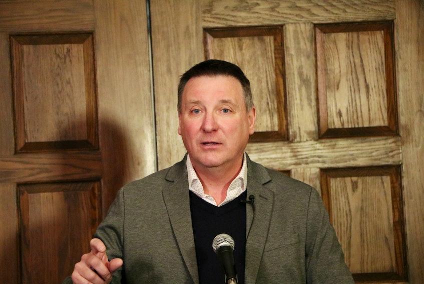 PC Opposition Leader David Brazil