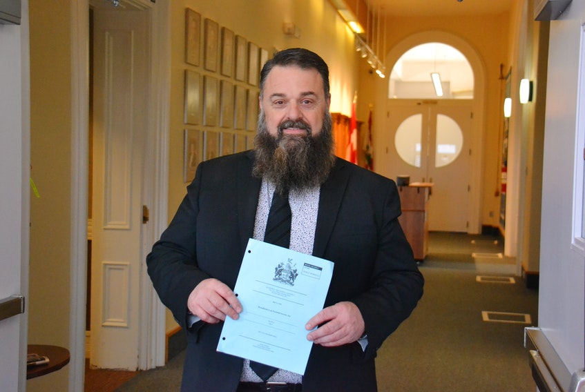 Tignish-Palmer Road MLA Hal Perry's Broadband is an Essential Service' act has been debated in second reading for weeks.