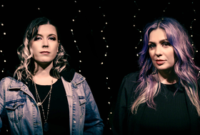 Niki Campbell and Leah Samson are lead singers for The Collective.