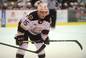 """Winger Ben Boyd enjoys bringing a physical element to the Charlottetown Islanders lineup. """"It's a way that I have fun playing hockey,"""" he said. """"It makes me feel good about my game and how I help the team."""""""