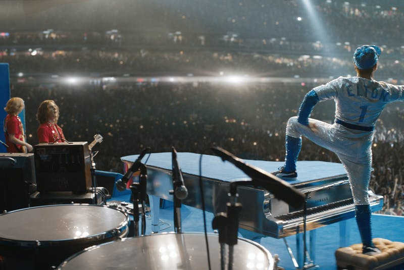 Rocketman is a trippy and touching look at Elton John's incredible life, now streaming on Amazon Prime Video. - Cinesite    - Contributed