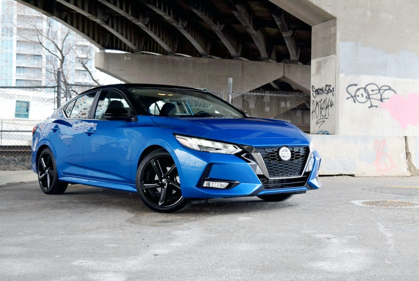 The 2021 Nissan Sentra is no longer stuck in the shadows of the other giants in this segment. Sami Haj-Assaad/Postmedia News
