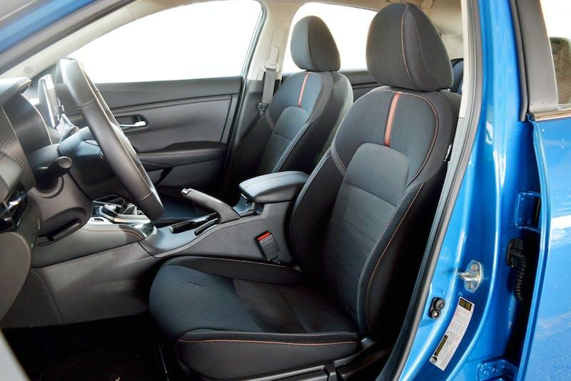The 2021 Nissan Sentra boasts Zero Gravity front seats. Sami Haj-Assaad/Postmedia News  - POSTMEDIA