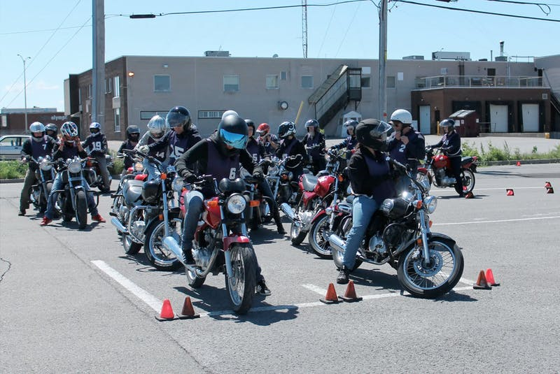 In most provinces, a rider training course is mandatory to gain a motorcycle endorsement on your licence. Costa Mouzouris/Postmedia News - POSTMEDIA