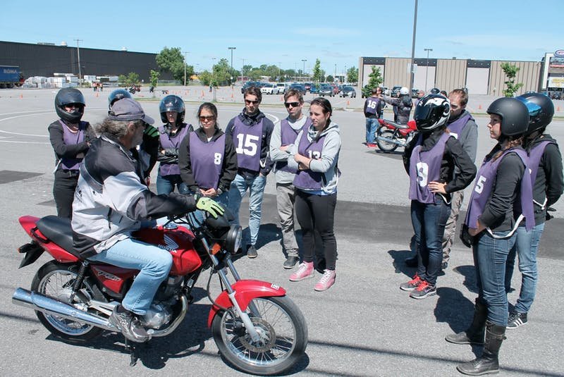 A riding instructor won't deem a student ready for the road until they develop situational awareness beyond the mere mechanical operation of the bike. Costa Mouzouris/Postmedia News  - POSTMEDIA