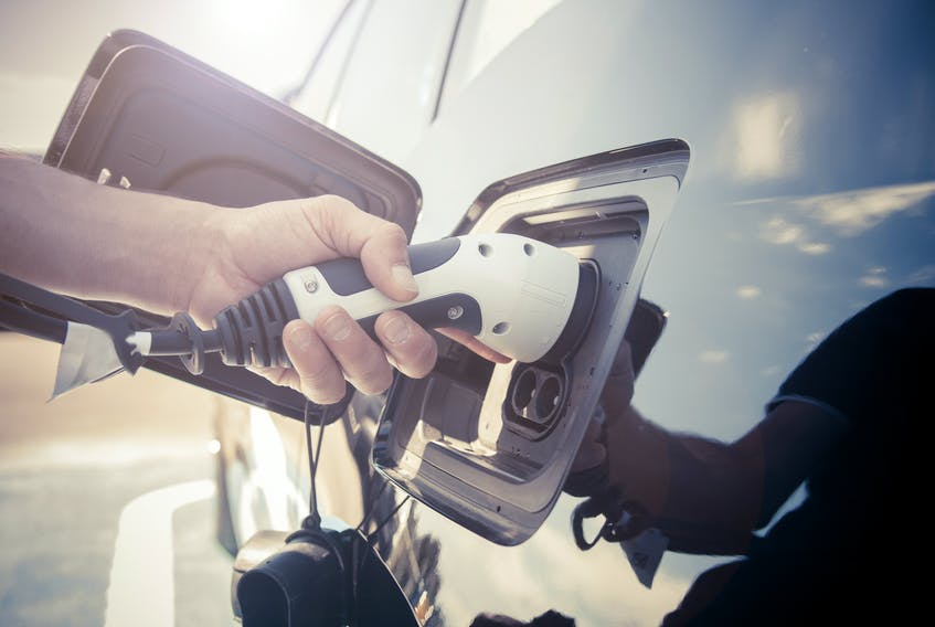 The U.S. government has earmarked US$100 billionto incentivize consumers to buy new EVs. 123rf stock photo