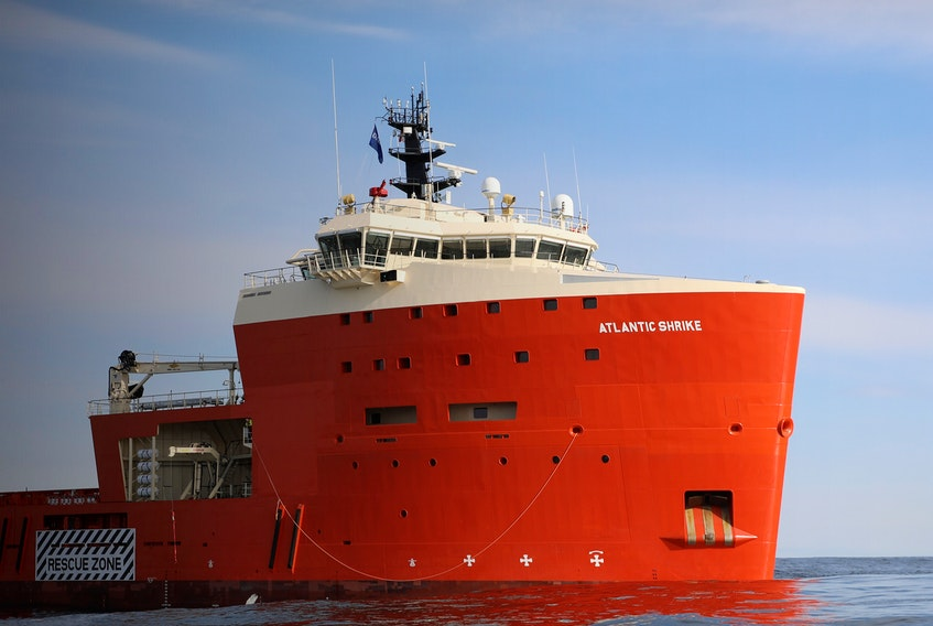 The Atlantic Shrike is a platform supply vessel 5000 constructed in 2017.