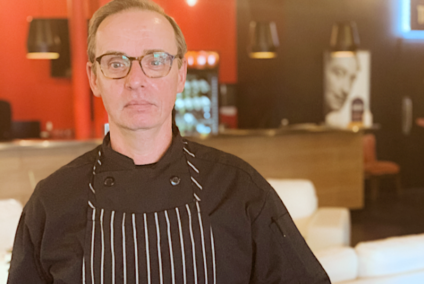 Patrick Young is the head chef of the Salvador Dali Café inside Charlottetown's Arts Hotel. The cafe officially opened April 23.