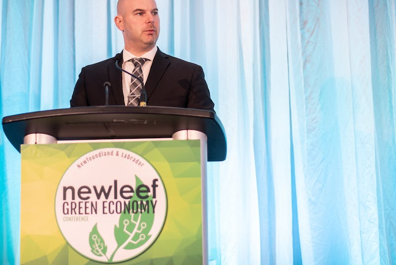 Kieran Hanley is the executive director of the Newfoundland and Labrador Environmental Industry Association. — Contributed