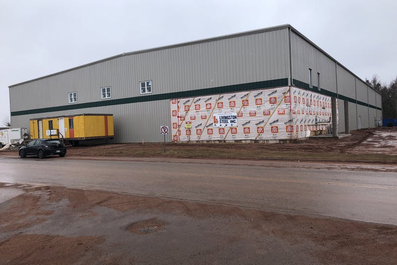 Work is progressing nicely at the Tyne Valley Events Centre. The goal is for the facility to have ice and be open for the 2021-22 winter season in early October. The new multi-purpose facility is being constructed on the site of the old Tyne Valley and Area Community Sports Centre, which was destroyed by fire on Dec. 29, 2019. - Jason Simmonds • The Guardian