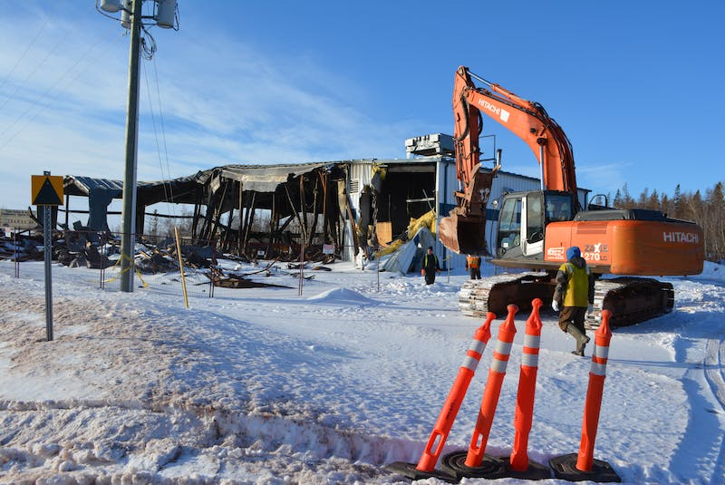 The Tyne Valley Community Sports Centre, who was destroyed in an early morning fire on Dec. 29, 2019, has been the focus of community and regional support to rebuild it ever since.  - File