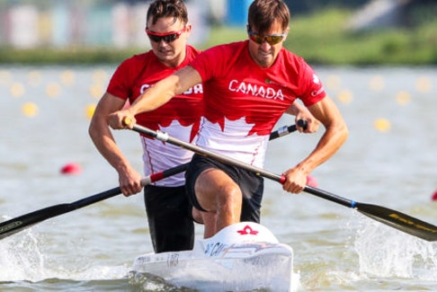 Dartmouth paddler Connor Fitzpatrick has qualified for this summer's Olympic Games in the men's C2 1,000 metres with partner Roland Varga of Richmond Hill, Ont. - Canoe and Kayak Canada