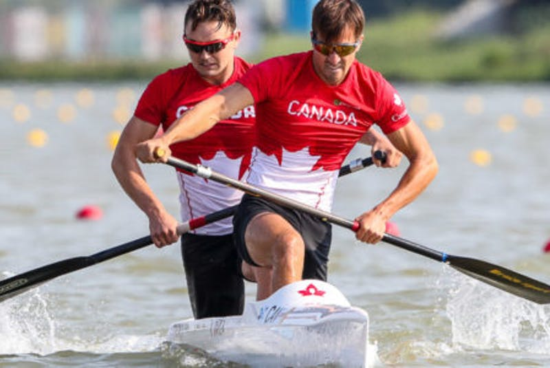 Dartmouth paddler Connor Fitzpatrick has qualified for the Tokyo Olympic Games in the men's C2 1,000 metres with partner Roland Varga of Richmond Hill, Ont. - Canoe and Kayak Canada