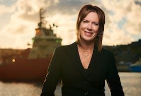 Genoa Design International CEO Gina Pecore. Genoa Design is once again partnering with Vancouver, B.C.'s Seaspan Shipyards to build Canada's newest Polar Icebreaker.