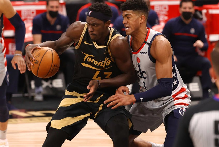 Pascal Siakam had a great game against the Washington Wizards on Thursday.