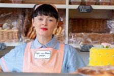 She's got a wee bun in the oven: Bronagh Gallagher in a A Bump Along the Way.