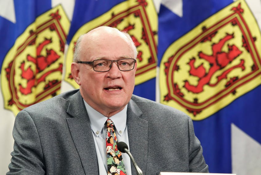 Dr. Robert Strang, Nova Scotia's chief medical officer of health, recently said that there would be 'hundreds and hundreds' of potential exposure notices released if Public Health did not focus on raising awareness of high-risk exposures.