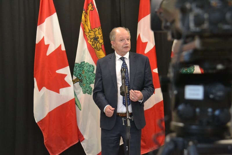 Health Minister Ernie Hudson said he was surprised to hear that surgeries at PCH will be deferred to Charlottetown over the coming four days.  - Stu Neatby
