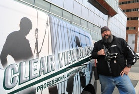 Jeff Sellars, owner of Clear View Glass, is upset with the City of St. John's.