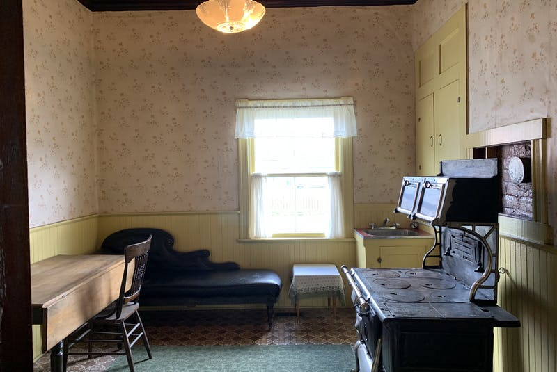 A back kitchen lost in time at Kalmia in St. John's. - Barb Sweet
