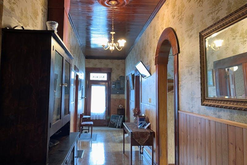 The wide hallway at Kalmia. — Barb Sweet