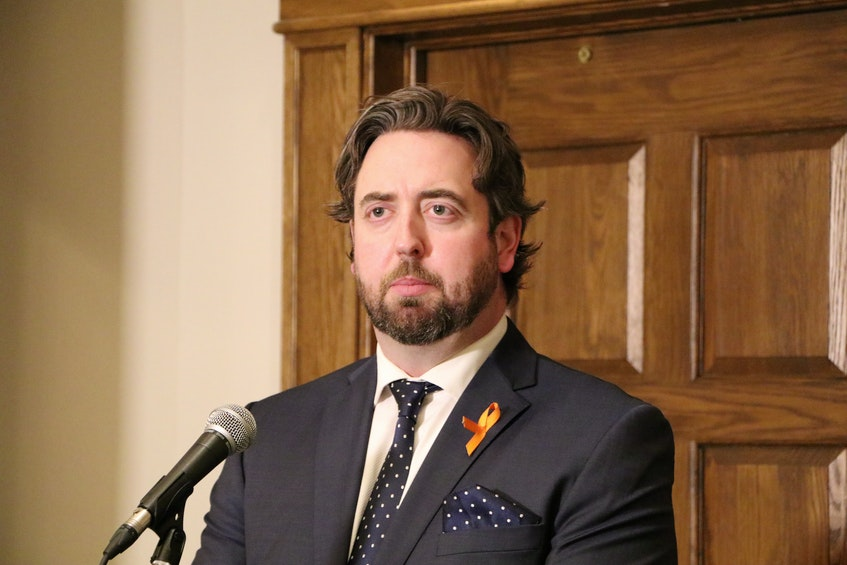 Andrew Parsons, the province's Minister of Industry, Energy and Technology - Glen Whiffen