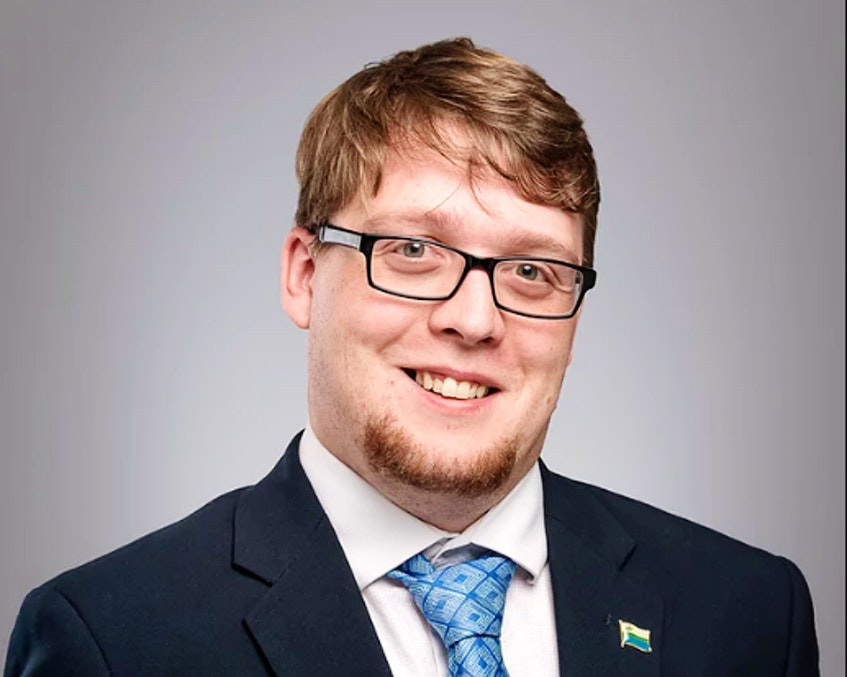 Jordan Brown, NDP MHA for Labrador West - Contributed