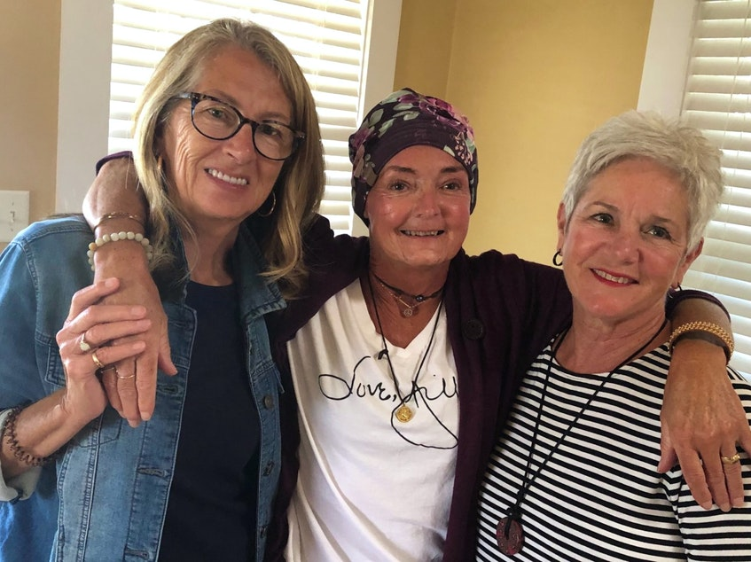 Janice Barnhill, Paula MacDonald and Claudette Priddle were best friends and lived near each other in Bible Hill. Janice said they were like sisters, and Claudette like a mother. - Contributed