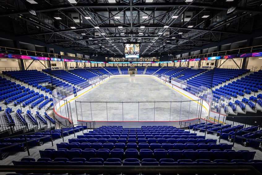 The Lions will play out of the recently constructed Nouveau Colisée, which has a hockey capacity of a little under 5,000. — Trois Rivières Lions photo