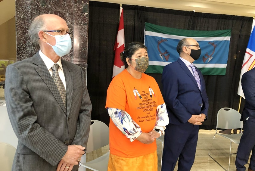 The Government of Newfoundland and Labrador and the Innu Nation today announced the appointment of retired Provincial Court Judge James Igloliorte as Chief Commissioner for the Commission of Inquiry into the Treatment, Experiences and Outcomes of Innu in the Child Protection System. The Chief Commissioner will be joined by Anastasia Qupee of Sheshatshiu, former Grand Chief of the Innu Nation, and Dr. Mike Devine, retired Associate Professor of the School of Social Work, Memorial University, who are appointed as Commissioners of the Inquiry.