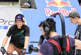 Red Bull is a major sponsor for accomplished BMX athlete Drew Bezanson of Truro.
