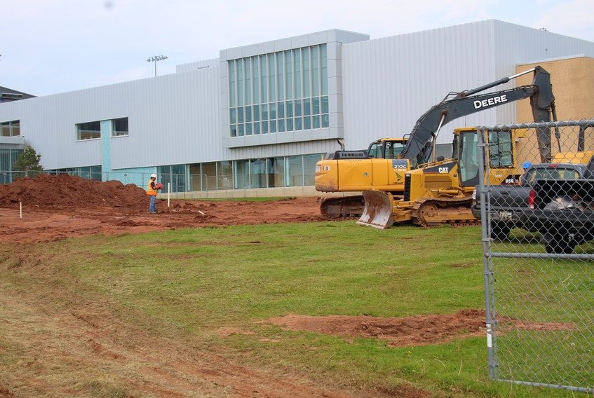 Construction on Summerside's new hotel was delayed due to the pandemic, but finally began in early June.