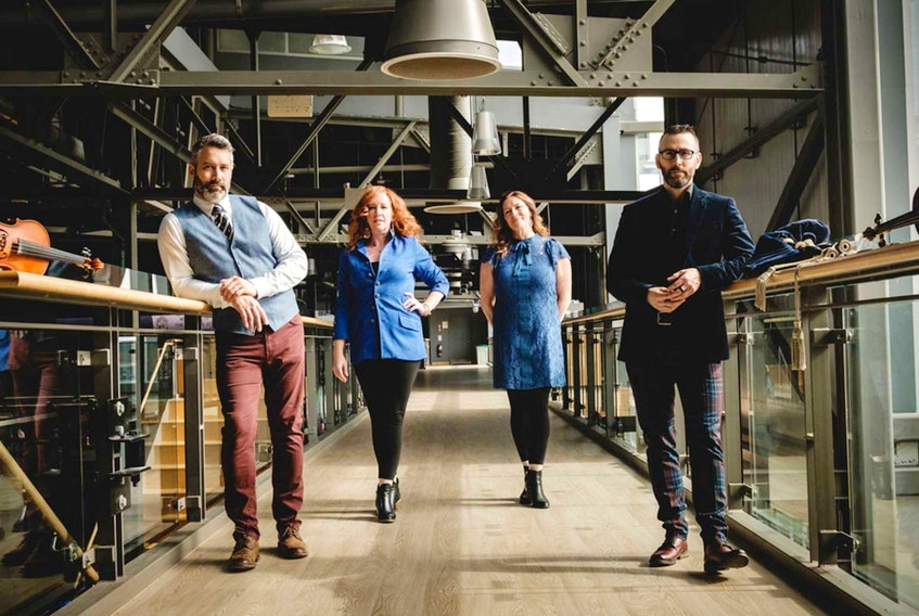 Traditional group Beòlach is among those taking part in this year's East Coast Music Awards. The group was presented with the Fans Choice entertainer of the year award during Thursday night's virutal ceremony. CONTRIBUTED