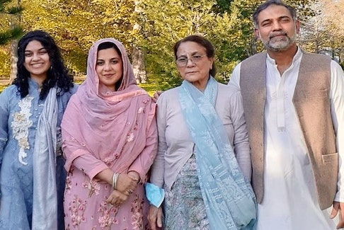 Yumna Afzaal, 15, Madiha Salman, 44, the family's grandmother, 74, who has not been named, and Salman Afzaal, 46, were killed when they were run down by a truck June 6 in what police say was an attack motivated by anti-Muslim hate. Madiha's and Salman's son, nine-year-old Fayez, was injured in the attack. - Afzaal family photo
