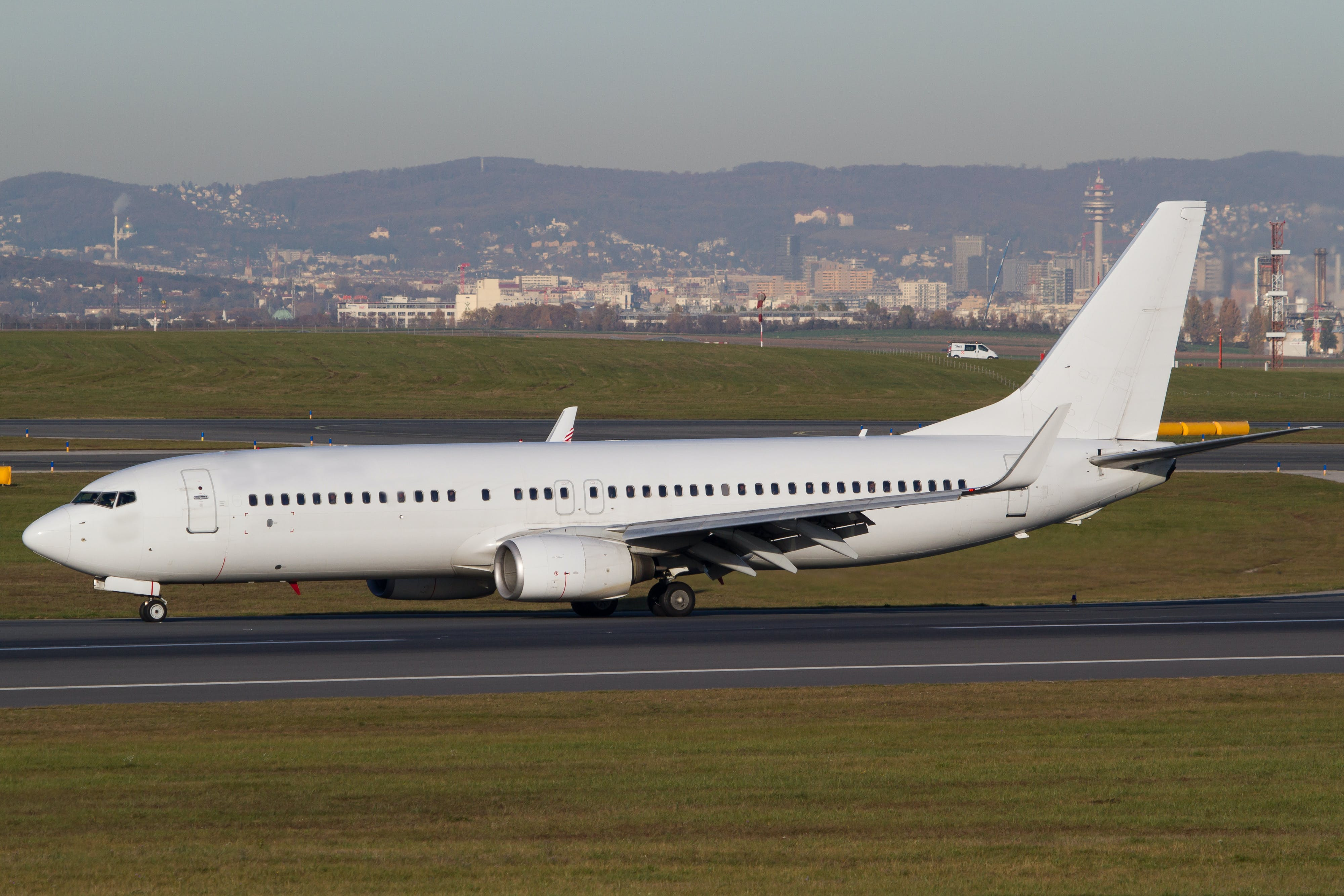 Swoop announced it would add a 10th Boeing 737-800 jet, like the one pictured in this stock photo, to its fleet this winter due to new travel bookings on par with pre-pandemic levels.