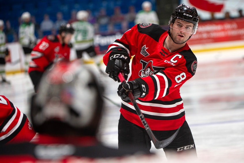 Xavier Simoneau has played the first four seasons of his junior career with the Drummondville Voltigeurs. Drummondville Voltigeurs • Special to The Guardian